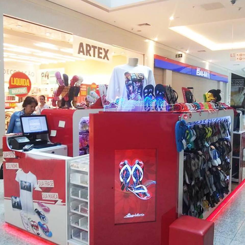 SANDALIARIA inaugura sua primeira loja fora de SP