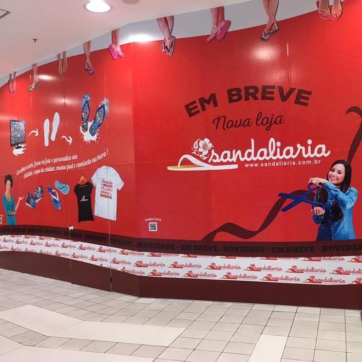 Inauguradas mais 02 lojas SANDALIARIA no mês de Agosto.