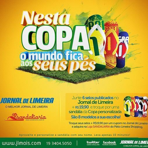 Sandaliaria lança projeto com o Jornal de Limeira