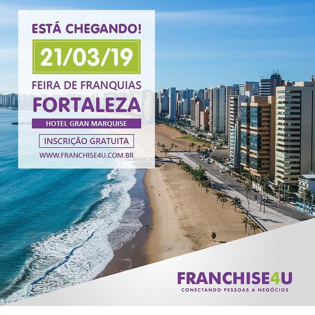 Sandaliaria estará presente na feira FRANCHISE4U FORTALEZA