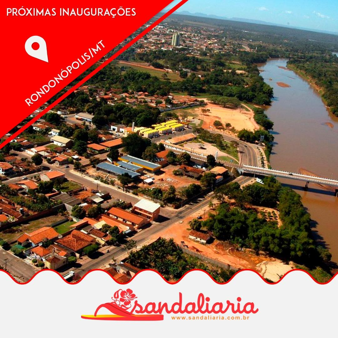 CONFIRMADA A TERCEIRA LOJA SANDALIARIA NO ESTADO DO MATO GROSSO